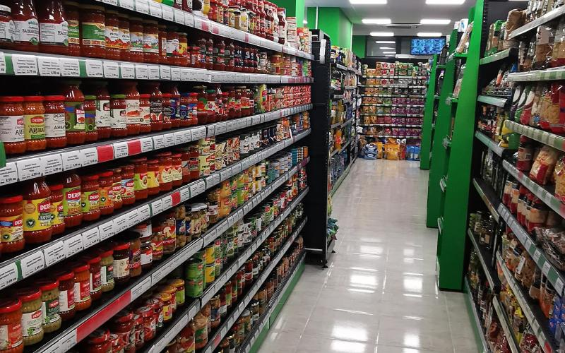 S_mart магазин за хранителни стоки Ес Джи Груп ЕООД Оборудване за търговски обекти и складове