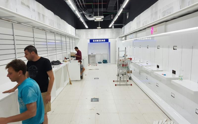 Техномаркет Хърватия Ес Джи Груп ЕООД Оборудване за търговски обекти и складове