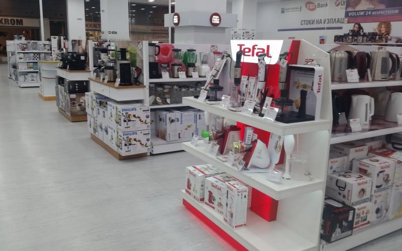 Техномаркет Ринг Мол Ес Джи Груп ЕООД Оборудване за търговски обекти и складове