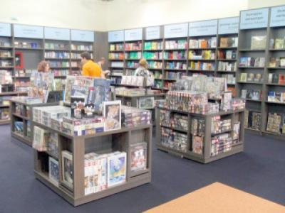 Bookstore SG Group Equipment for shops and stores