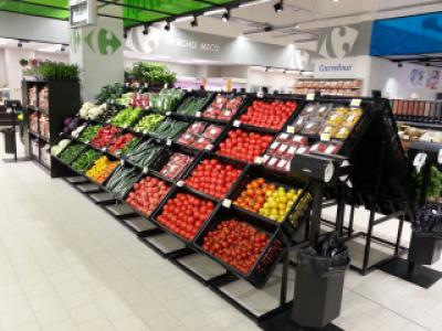 Супермаркети Carrefour  Ес Джи Груп ЕООД Оборудване за търговски обекти и складове
