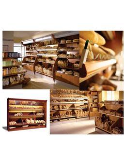 Baked Goods Shelves Ес Джи Груп ЕООД Оборудване за търговски обекти и складове