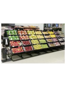 Vegetable Dislay Shelves Ес Джи Груп ЕООД Оборудване за търговски обекти и складове
